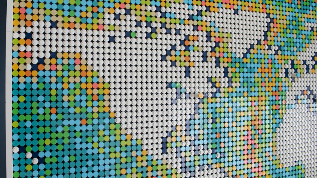 LEGO Art 31203 World Map 9