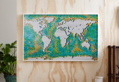 LEGO Art 31203 World Map sells out yet again