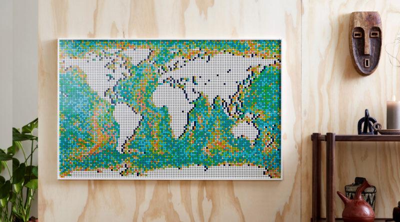 LEGO Art 31203 World Map lifestyle resized featured