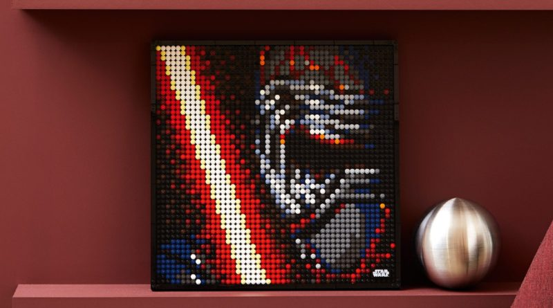 LEGO Art Star Wars The Sith 31200 lifestyle featured