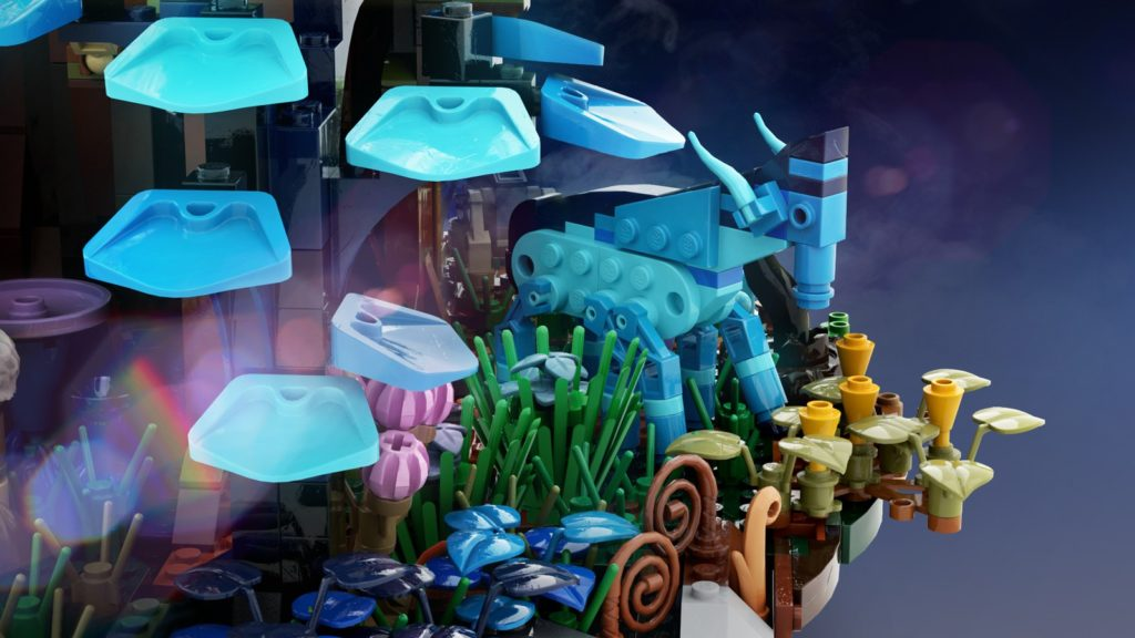 LEGO Avatar The Illuminated World Of Pandora 3