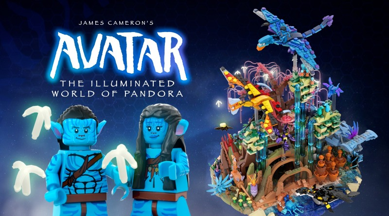 LEGO Avatar The Illuminated World Of Pandora Featured