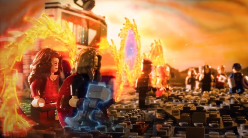 LEGO Avengers Endgame Portal scene recreation Whats up Disney featured