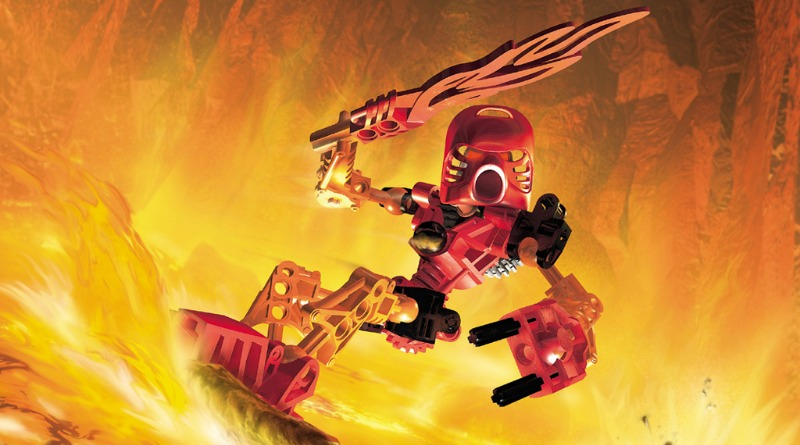 LEGO BIONICLE Tahu Wallpaper Featured