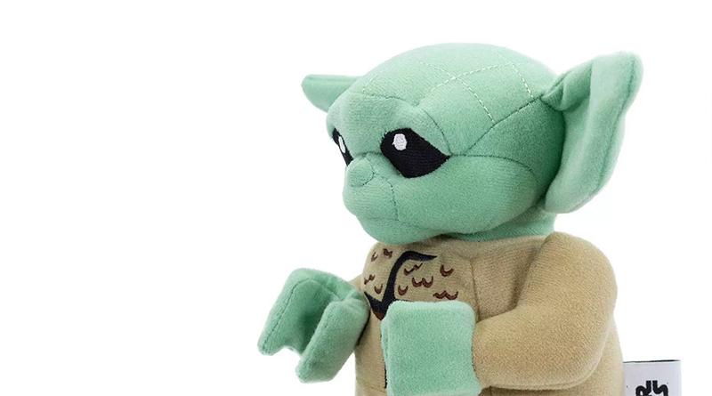 LEGO Baby Yoda Plush Featured