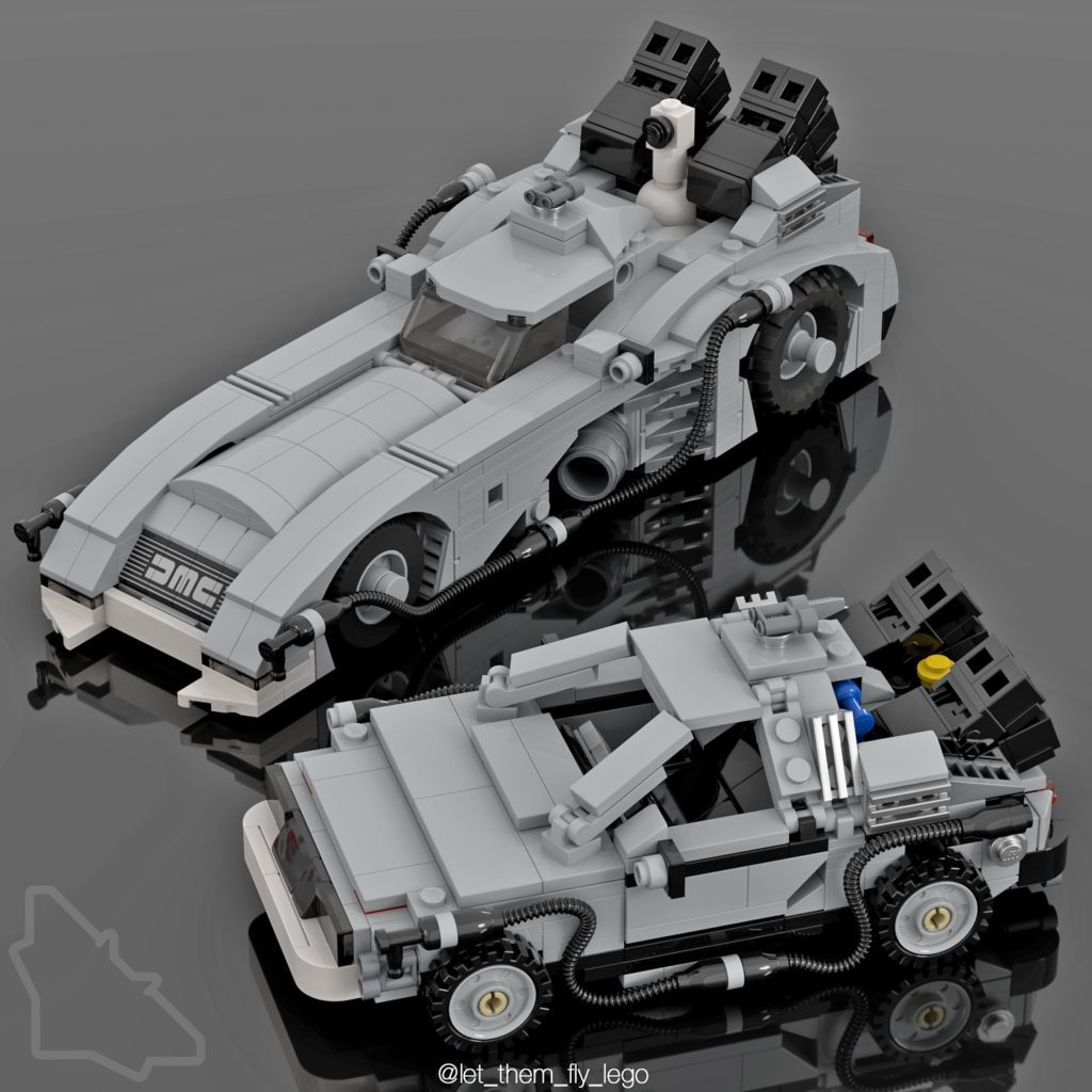 LEGO Back To The Future Batmobile 1024x1024