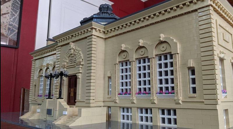 LEGO Bangor LIbrary Featured
