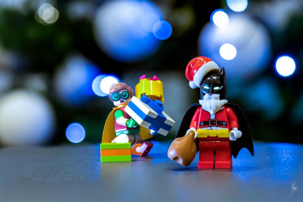 LEGO Bat Santa