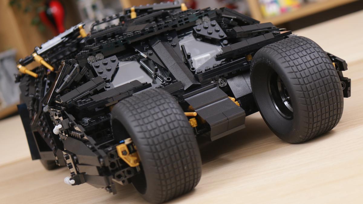 LEGO Batman 76023 The Tumbler Review Title