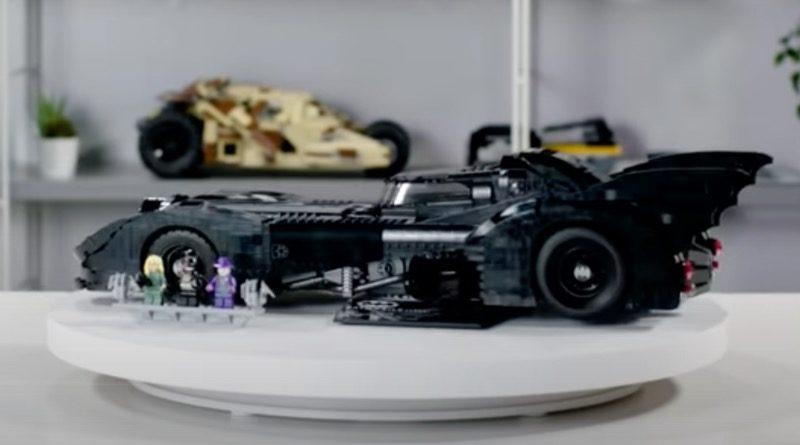 LEGO Batman 76139 1989 Batmobile designer video Tumbler featured