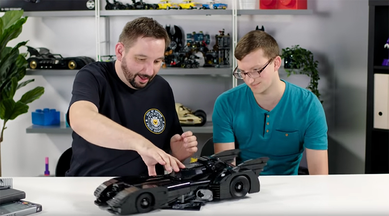 LEGO Batman 76139 Batmobile behind-the-scenes