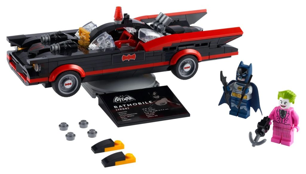 LEGO Batman 76188 Batman Classic TV Series Batmobile 1 1