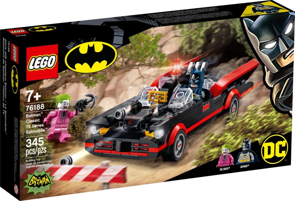 LEGO Batman 76188 Batman Classic TV Series Batmobile 2 1
