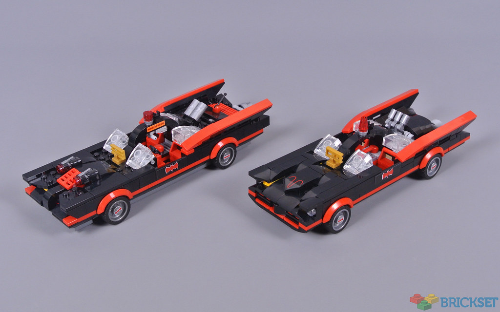 LEGO Batman 76188 Batman Classic TV Series Batmobile Brickset review 3