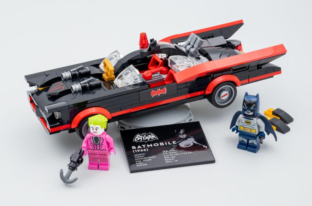 LEGO Batman 76188 Batman Classic TV Series Batmobile Hoth Bricks Review 1