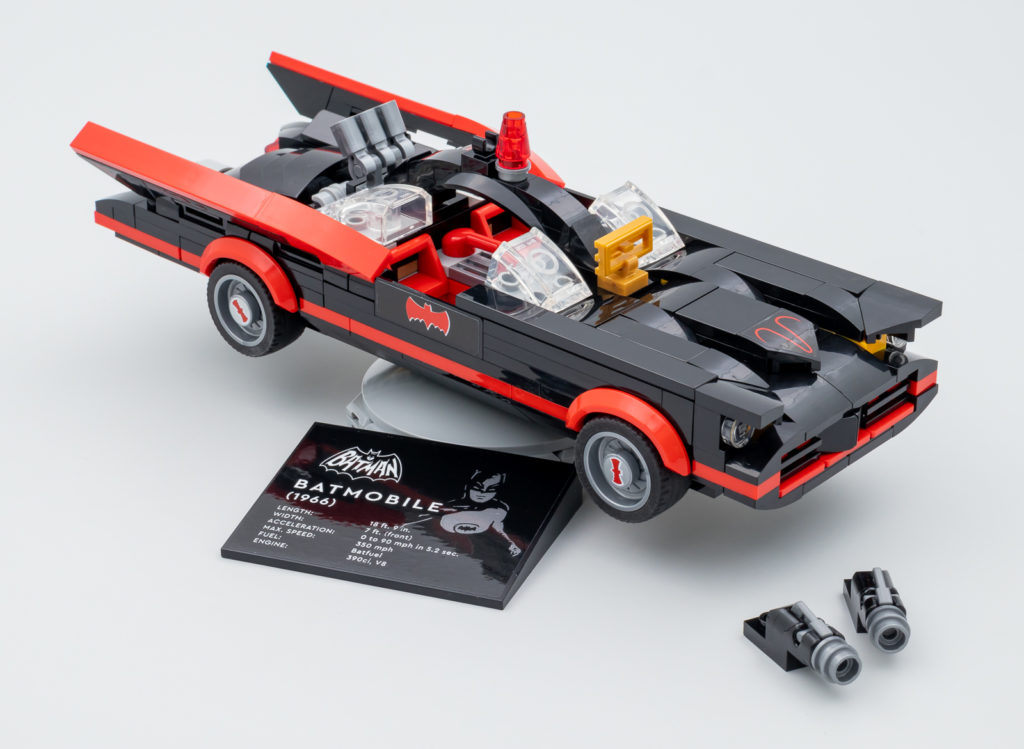 LEGO Batman 76188 Batman Classic TV Series Batmobile Hoth Bricks review 2