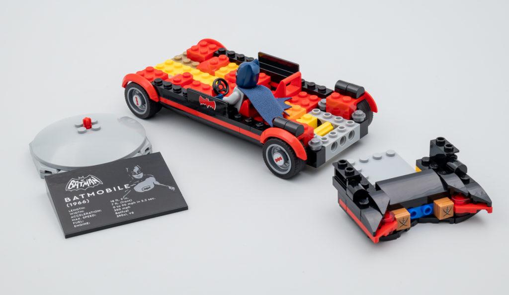 LEGO Batman 76188 Batman Classic TV Series Batmobile Hoth Bricks review 3