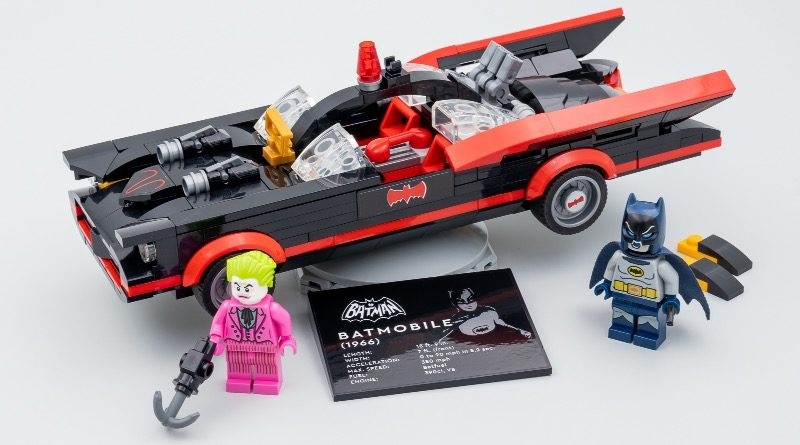 Holy early review, Batman! Here's LEGO 76188 Batman Classic TV Series Batmobile