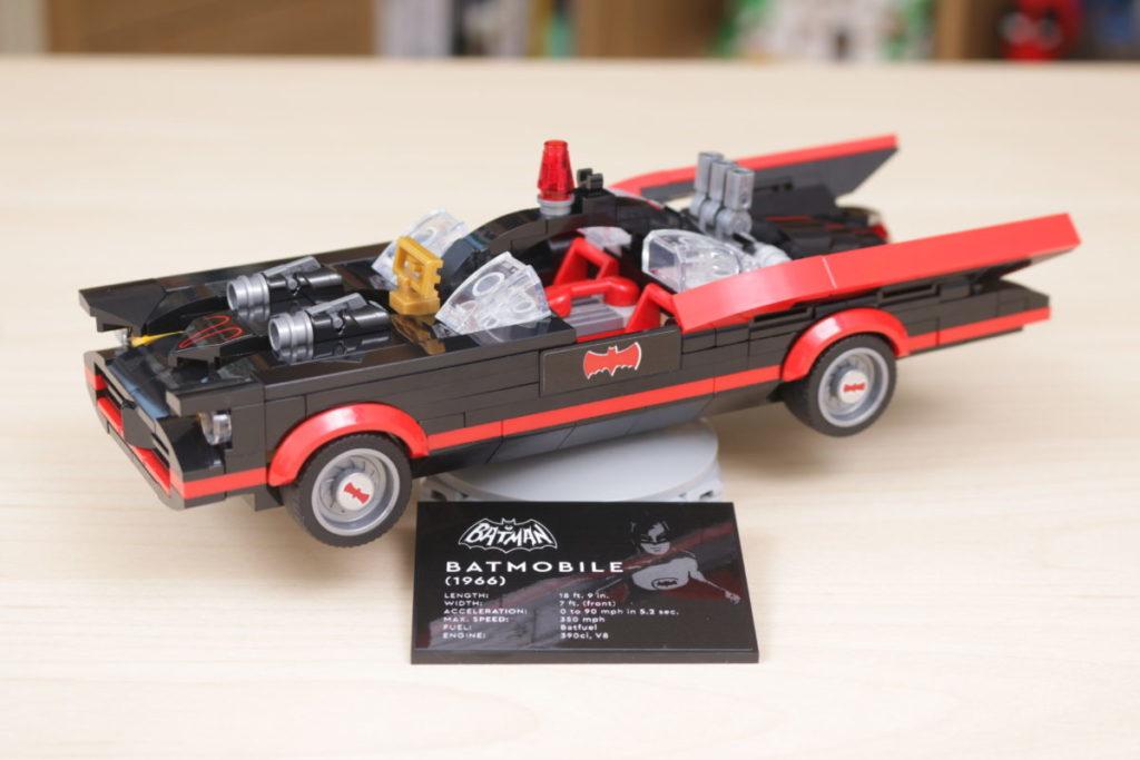 LEGO Batman 76188 Batman Classic TV Series Batmobile review 2