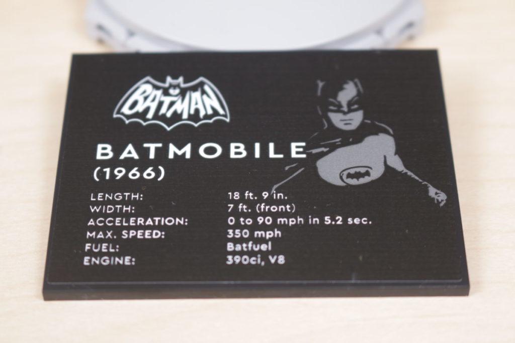 LEGO Batman 76188 Batman Classic TV Series Batmobile review 6