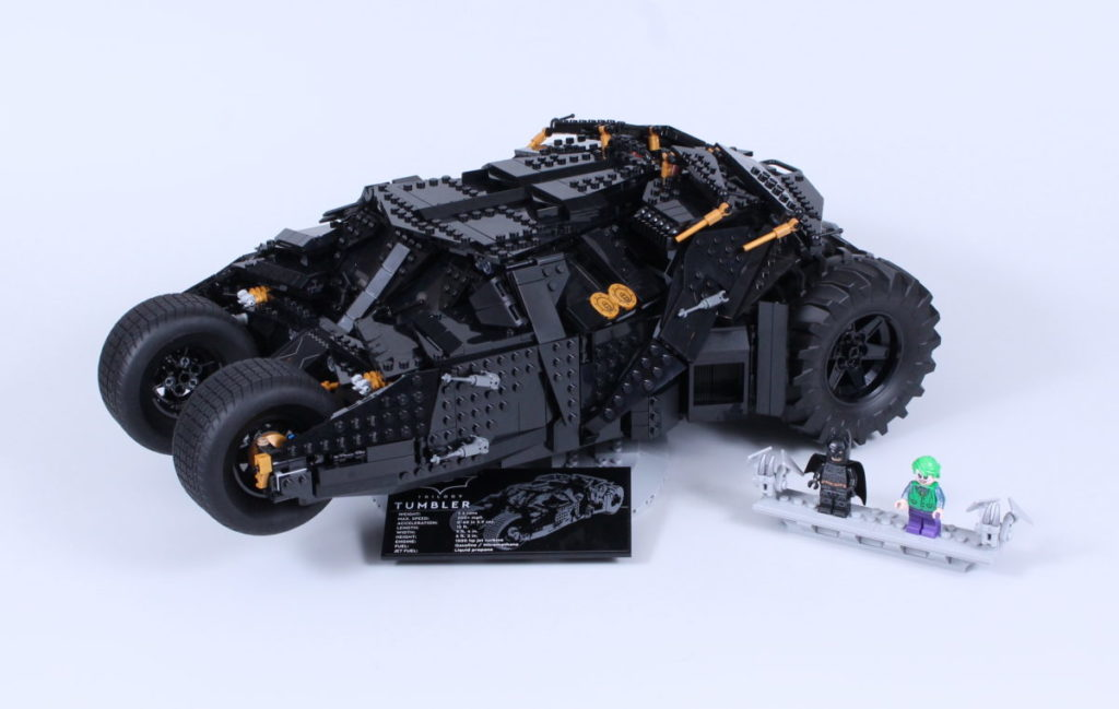 LEGO Batman 76240 Batmobile Tumbler review 1