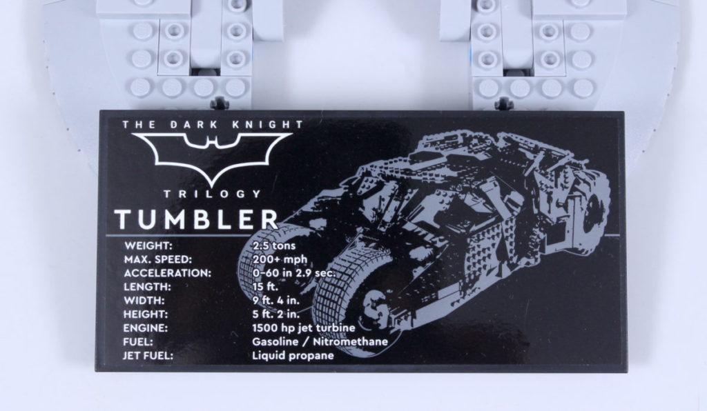 LEGO Batman 76240 Batmobile Tumbler review 66