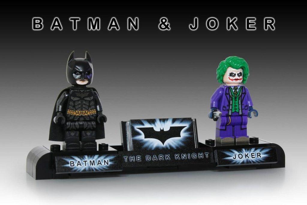 LEGO Batman Joker Dark Knight custom minifigures 2