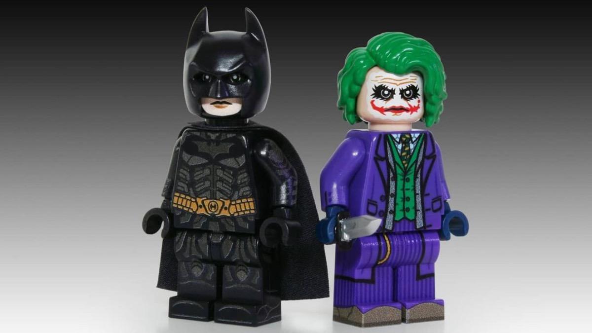 LEGO Batman Joker Dark Knight Custom Minifigures Featured