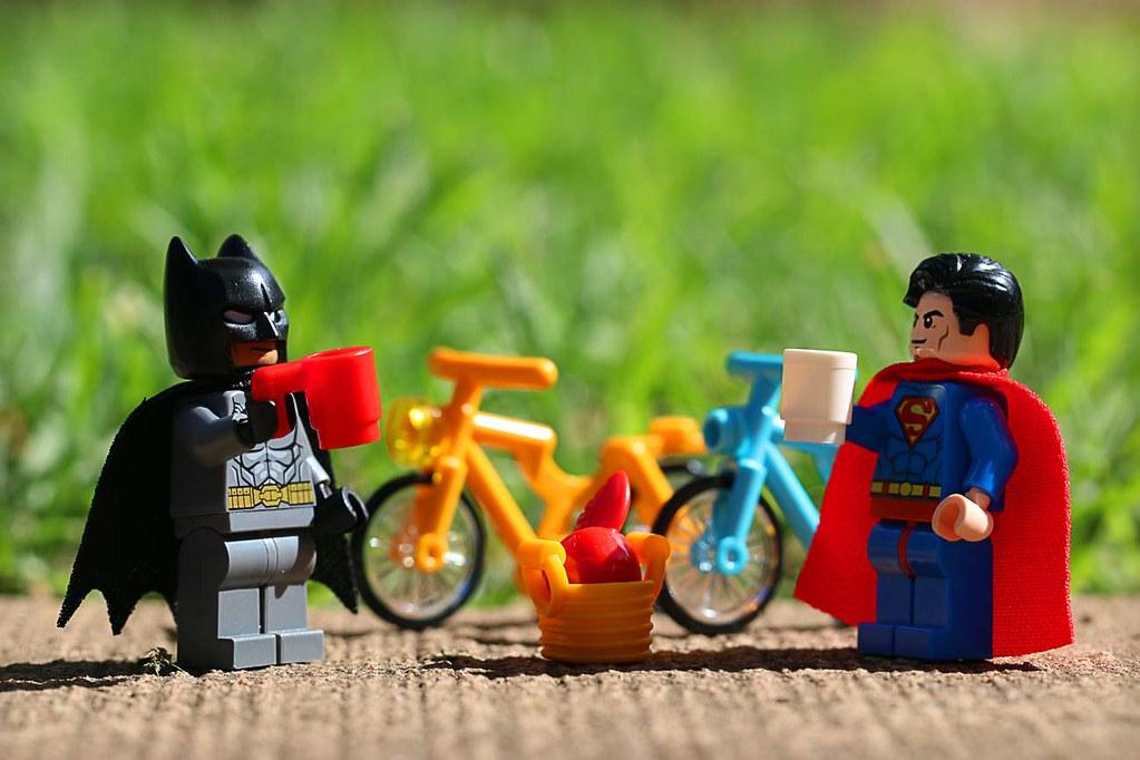 LEGO Bats Supes