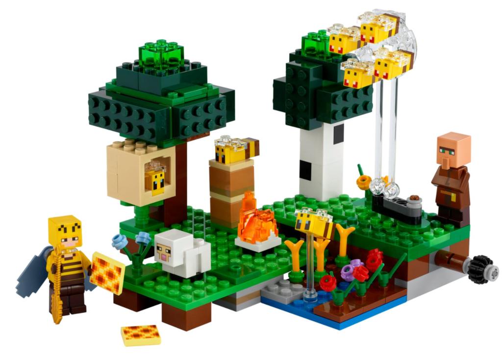 LEGO Bee farm