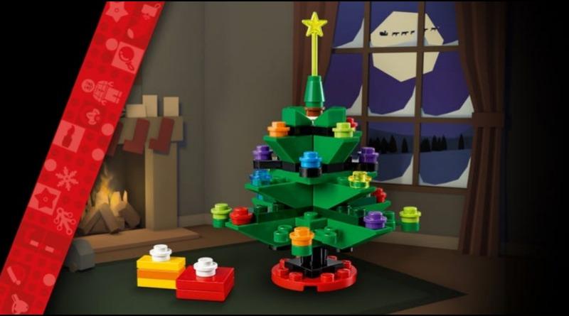 LEGO Black Friday Holiday Tree Featured