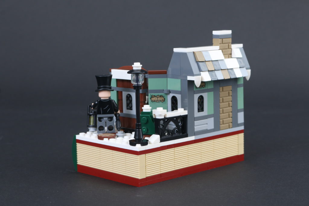 LEGO Black Friday VIP Weekend 40410 Charles Dickens Tribute Review 3
