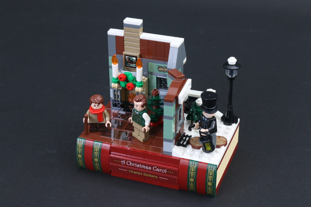 LEGO Black Friday VIP Weekend 40410 Charles Dickens Tribute Review 5