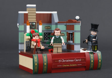 Free Black Friday LEGO 40410 Charles Dickens Tribute set still available