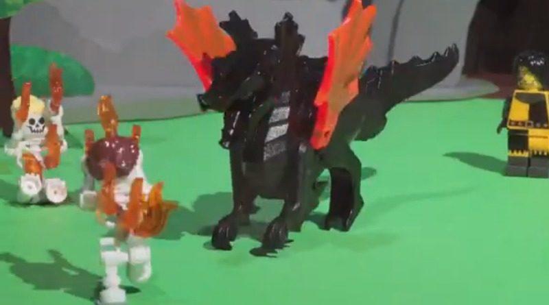 LEGO Blacksmith promo video featured