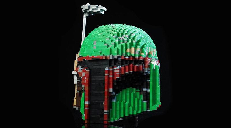 LEGO Boba Fett helmet featured