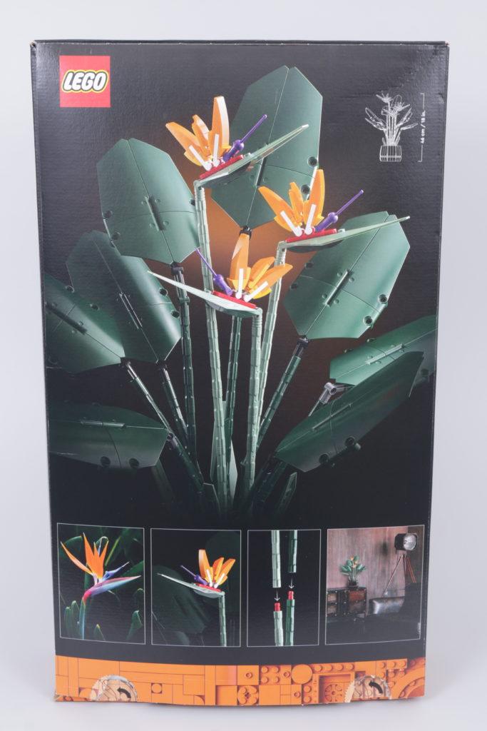 LEGO Botanical Collection 10289 Bird Of Paradise Reveal 2