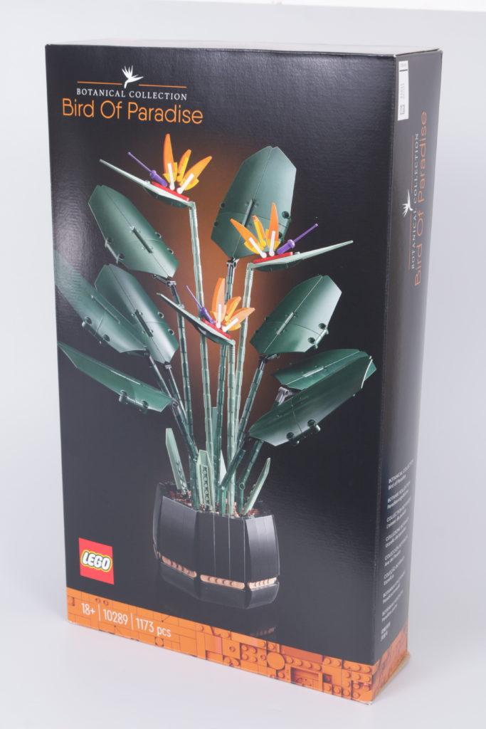 LEGO Botanical Collection 10289 Bird Of Paradise Reveal 8i