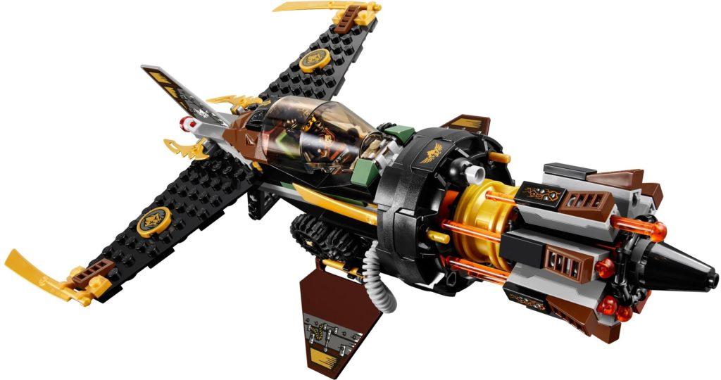 LEGO Boulder Blaster 70747 action shot