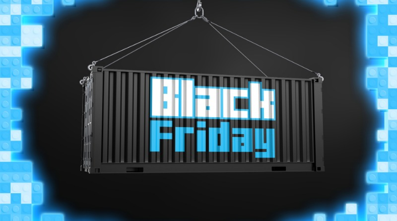 LEGO Brick Fanatics Black Friday Container Featured