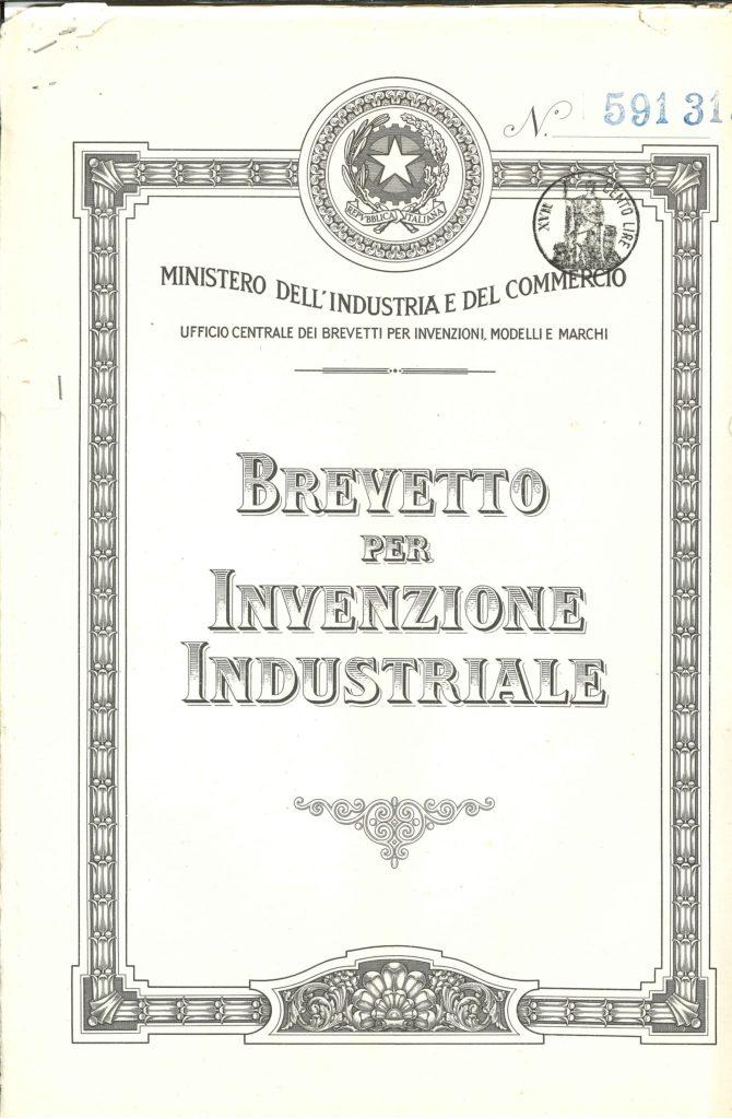 LEGO Brick Patent Italy