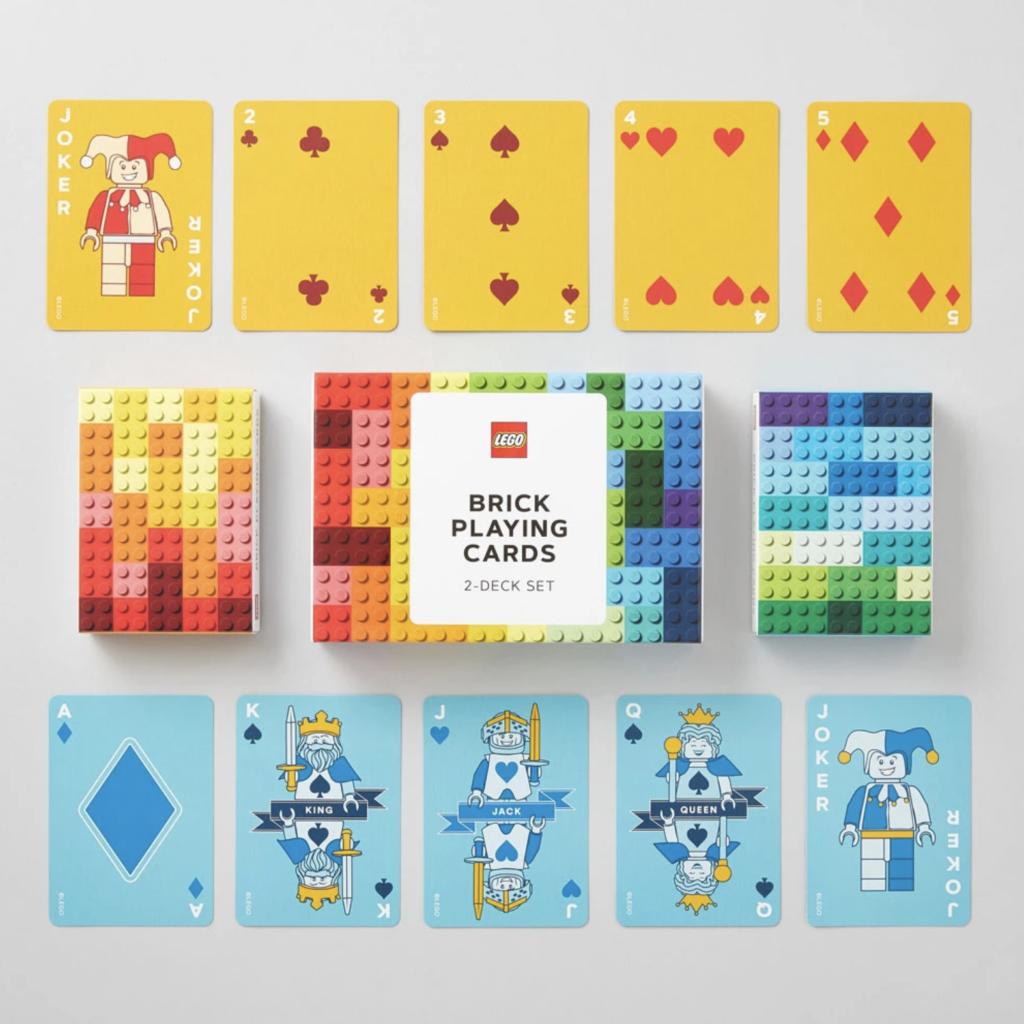 LEGO Brick Playing Cards deck
