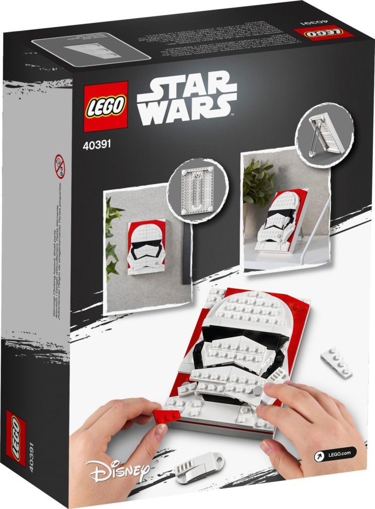 LEGO Brick Sketches 40391 First Order Stormtrooper 5