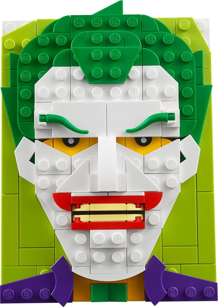 LEGO Brick Sketches 40428 The Joker 1