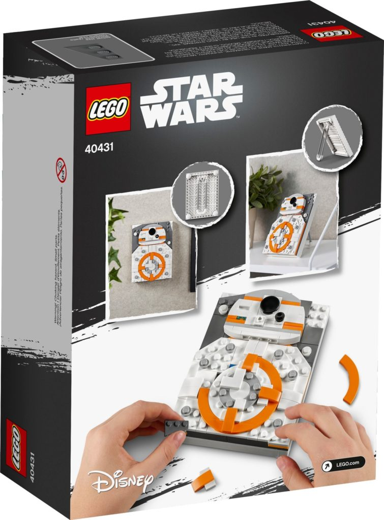 LEGO Brick Sketches 40431 BB 8 5