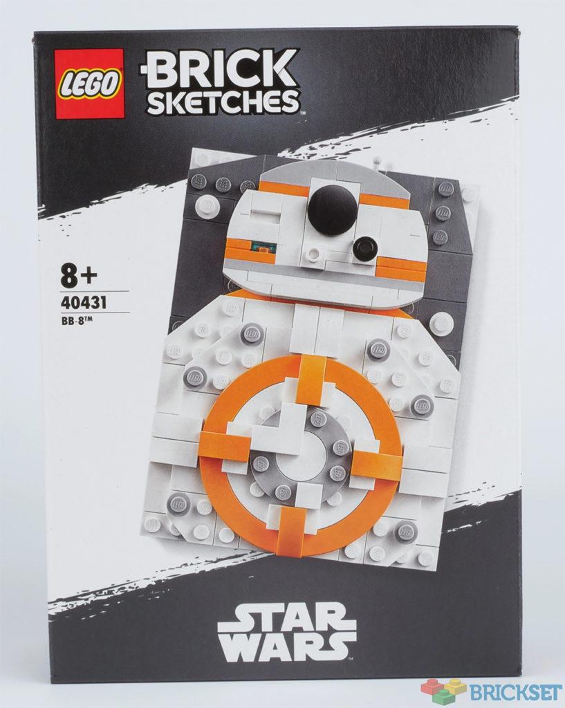 LEGO Brick Sketches 40431 BB 8