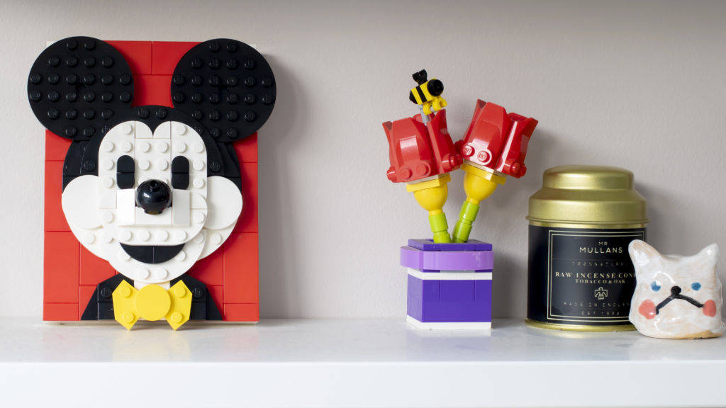 LEGO Brick Sketches 40456 Mickey Mouse 6