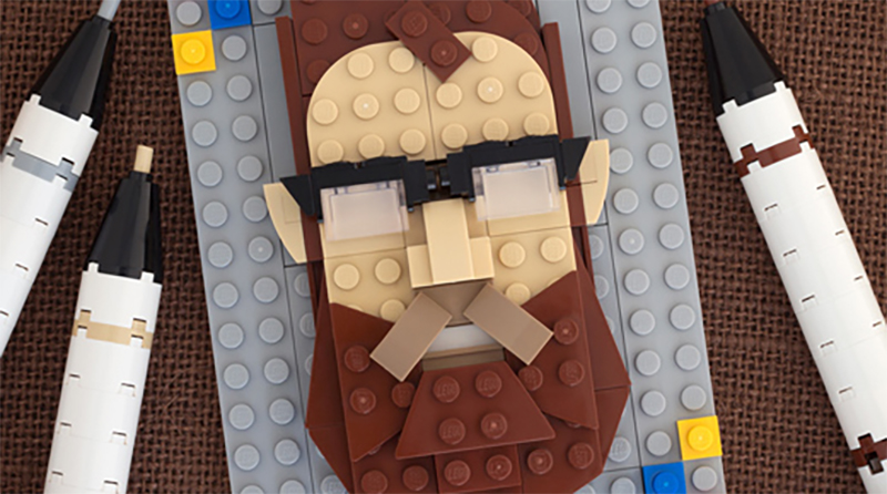 LEGO Brick Sketches Chris Mcveigh Featured