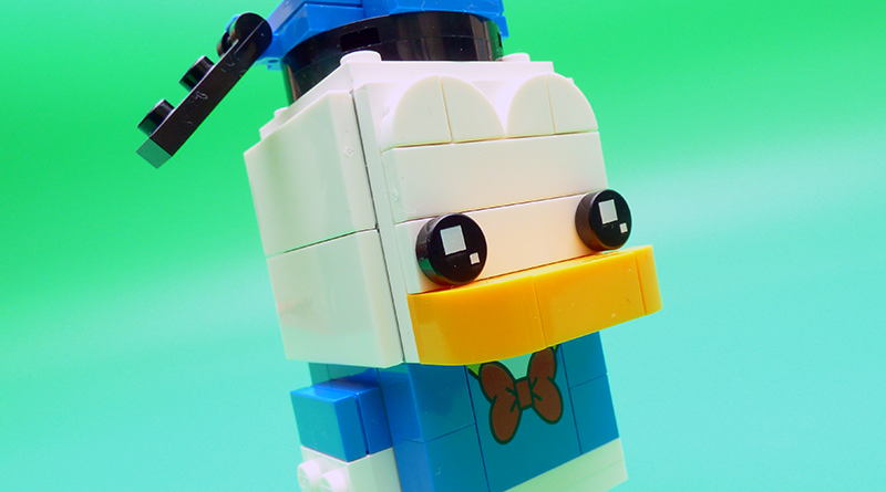 LEGO BrickHeadz 40377 Donald Duck Featured 800 445