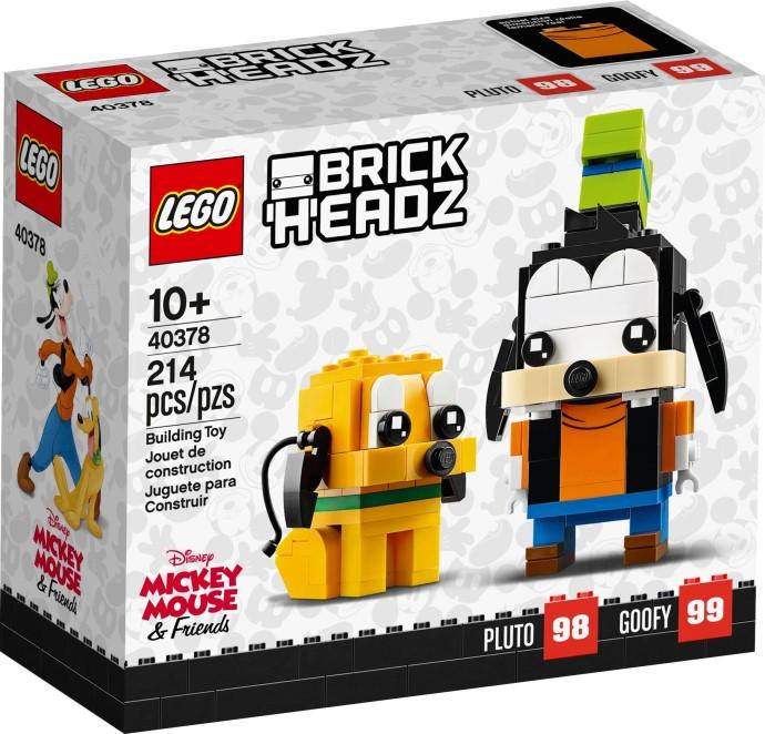 LEGO BrickHeadz 40378 Goofy Pluto